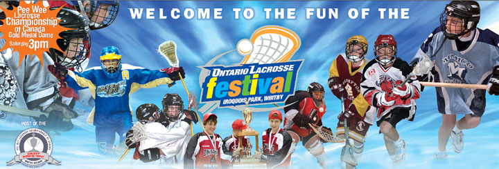 2017 Ontario Lacrosse Festival, Friday, August 4th to Sunday, August 13th. Iroquois Park Sports Centre, Whitby, ON